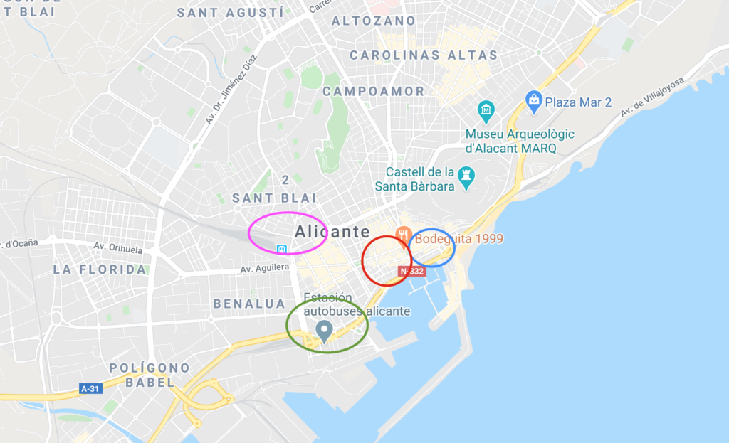 Alicante Neighborhood Guide