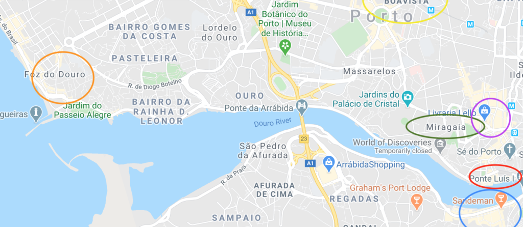 Porto Neighborhood Guide